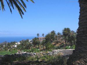Alojera aus der Hängematte La Gomera