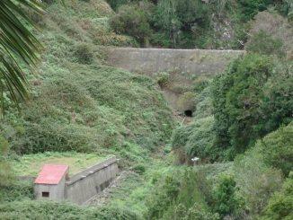 Presa de los gallos, La Gomera