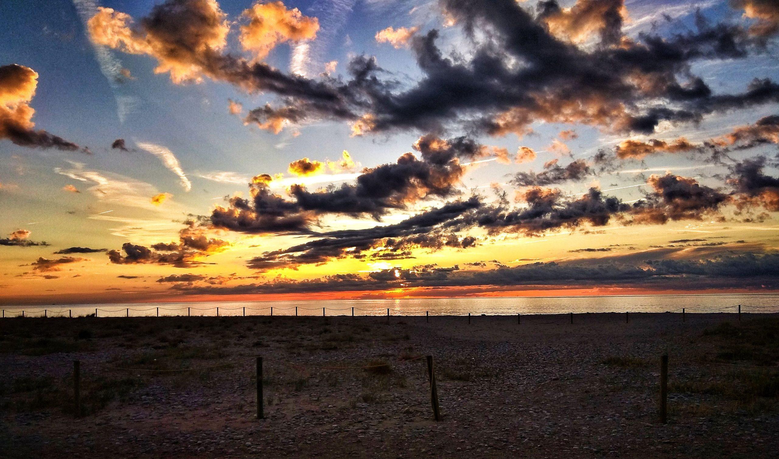 Sonnenaufgang bei Tarragona