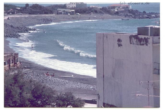 Blick vom Appt. San Jose auf Maria Sept 1984