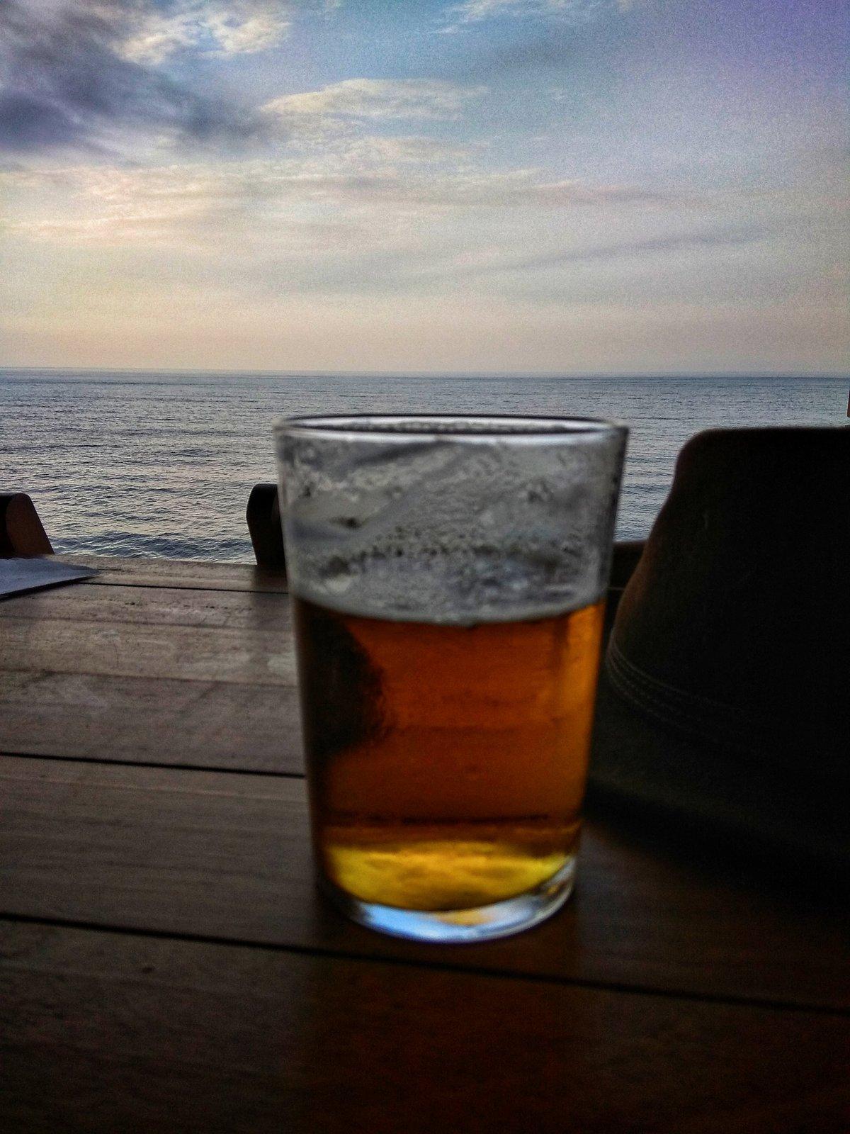 Bier am Atlantik